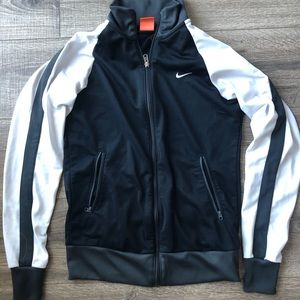 Nike zip up workout sweater